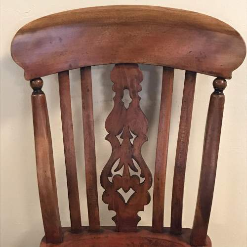 A Good Set Of Five Late 19th Century Country Chairs image-5