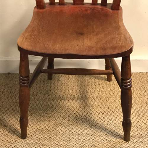 A Good Set Of Five Late 19th Century Country Chairs image-6
