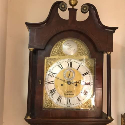 Late 18th Century Oak Longcase Clock image-1