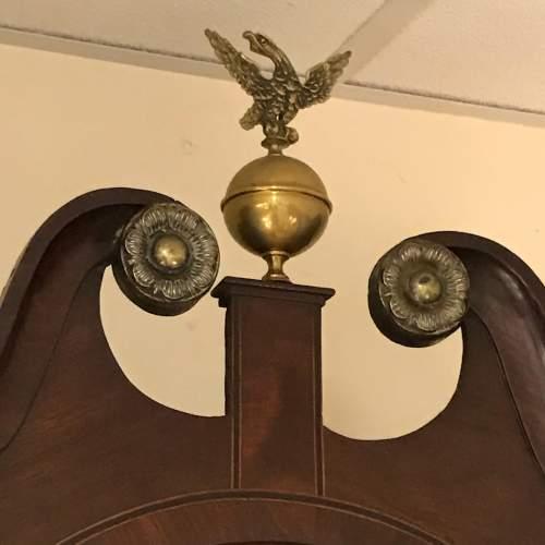 Late 18th Century Oak Longcase Clock image-2