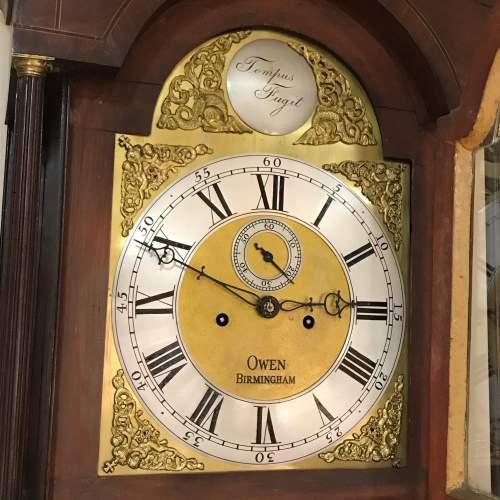 Late 18th Century Oak Longcase Clock image-3