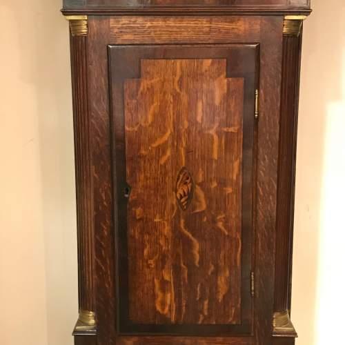 Late 18th Century Oak Longcase Clock image-4