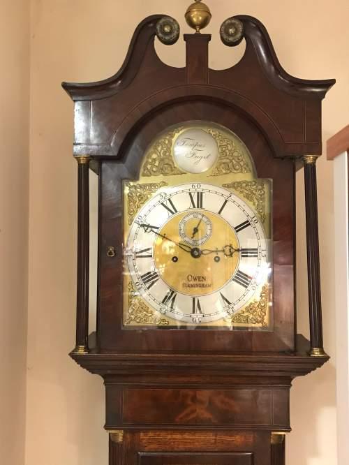 Late 18th Century Oak Longcase Clock image-5