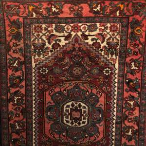 Old Hand Knotted Persian Rug Hamadan