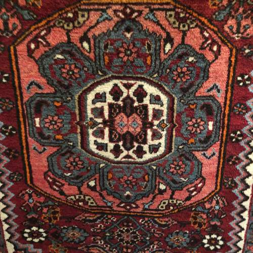 Old Hand Knotted Persian Rug Hamadan image-3