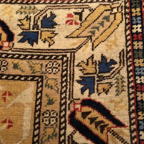 Superb Old Hand Knotted Turkish Rug Kayseri image-4