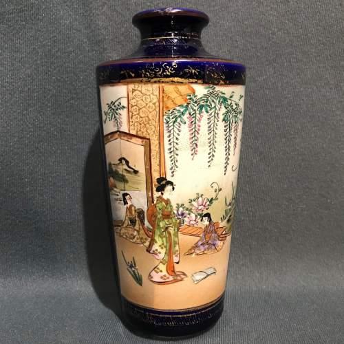 Meiji Period Satsuma Vase image-1