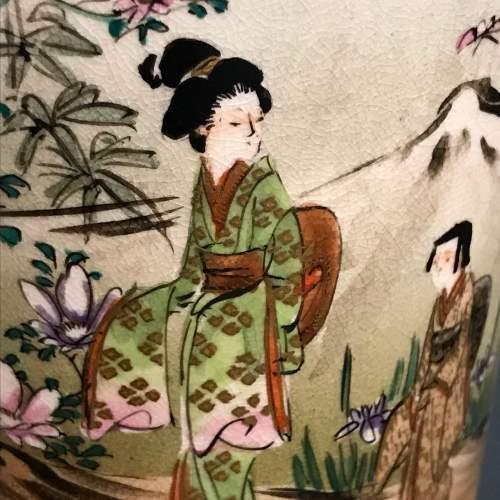 Meiji Period Satsuma Vase image-5