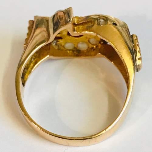 Vintage 1950s Gold Ring image-4