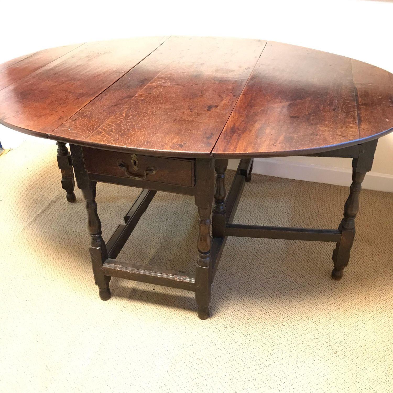 Groovy Early 18Th Century Oak Gateleg Dining Table Download Free Architecture Designs Pushbritishbridgeorg