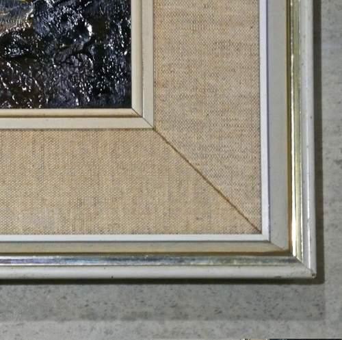 Cegin Y Diawl Original Oil on Panel by Donald McIntyre image-3