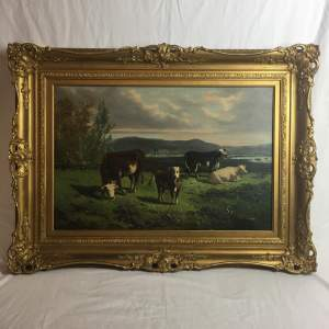 19th Century Oil Painting by George Henry Hall