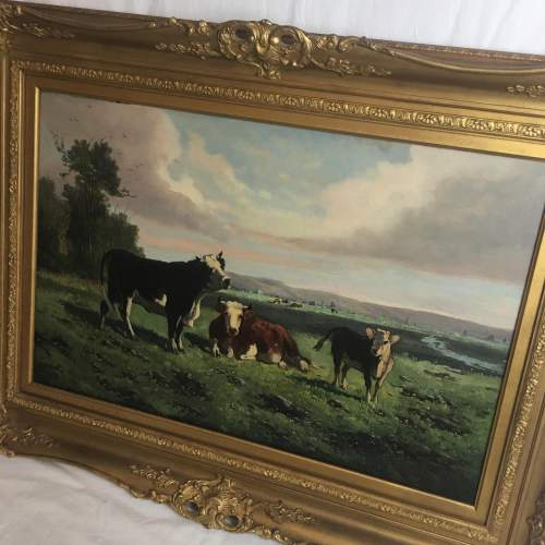 George Henry Hall 19th Century Oil Painting image-3