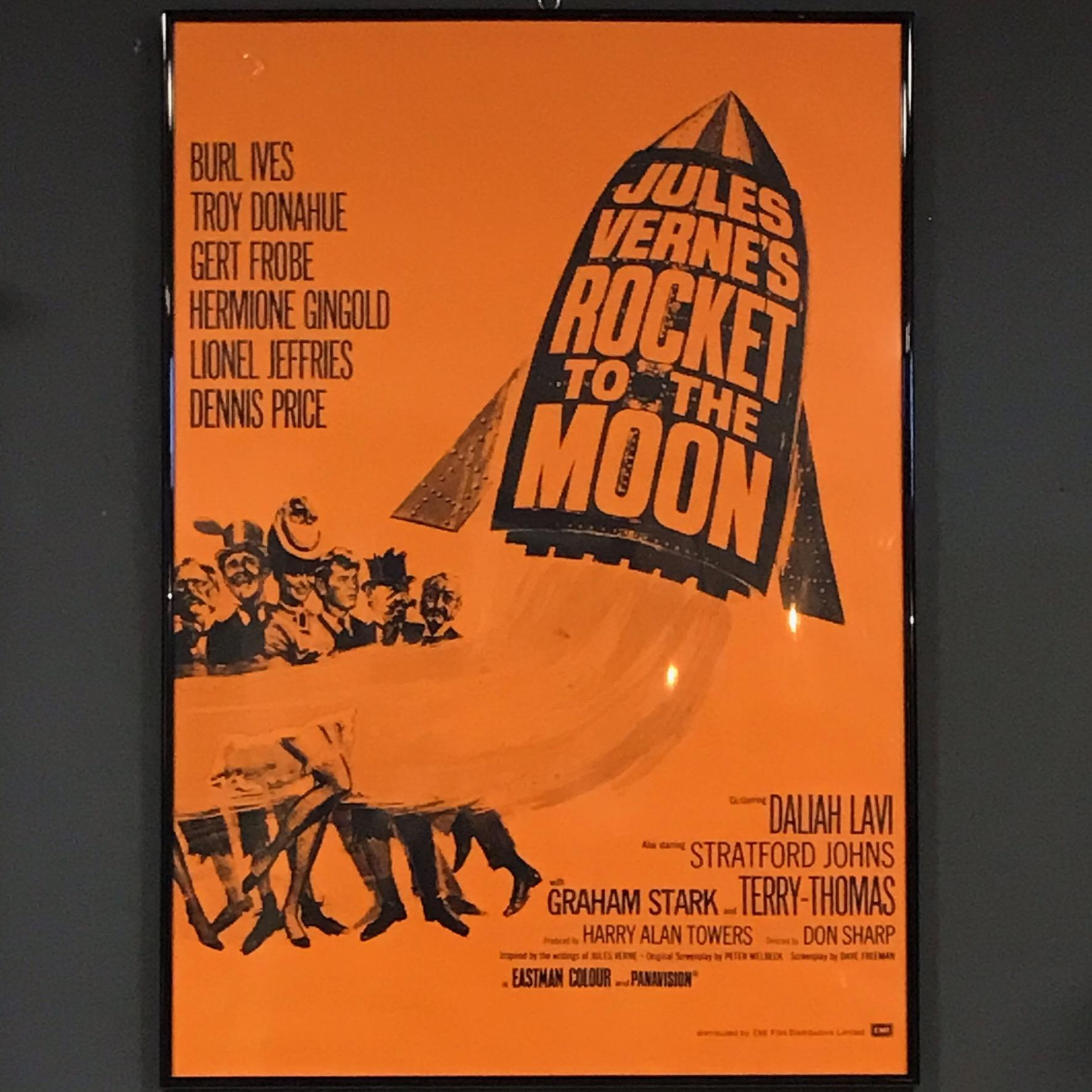 Rockets To The Moon: Jules Vernes Rocket To The Moon Original British Film