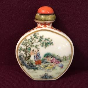 Fine Quality Rose Snuff Bottle