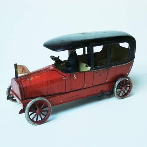 Lehmann Sedan Clockwork Toy Car image-1