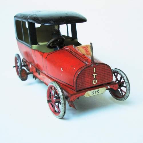 Lehmann Sedan Clockwork Toy Car image-2
