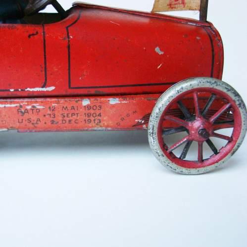 Lehmann Sedan Clockwork Toy Car image-3