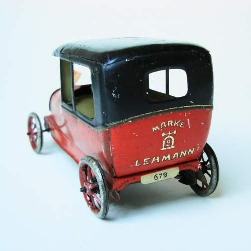 Lehmann Sedan Clockwork Toy Car image-4