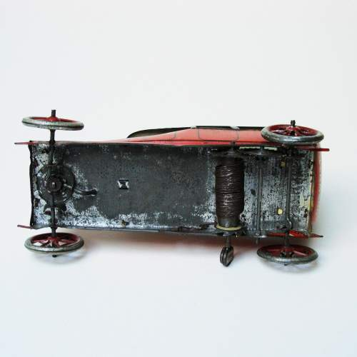 Lehmann Sedan Clockwork Toy Car image-5