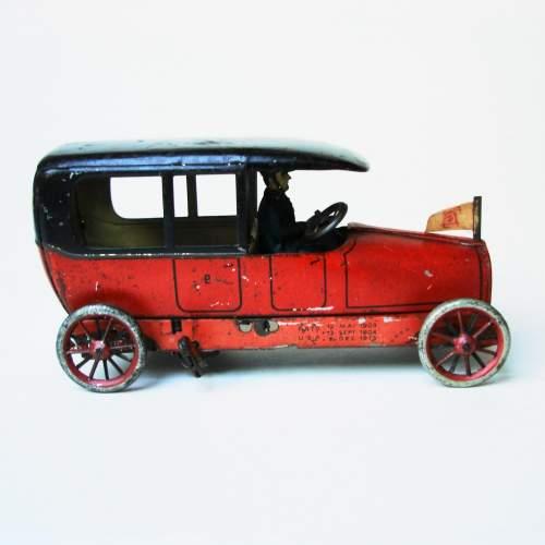Lehmann Sedan Clockwork Toy Car image-6