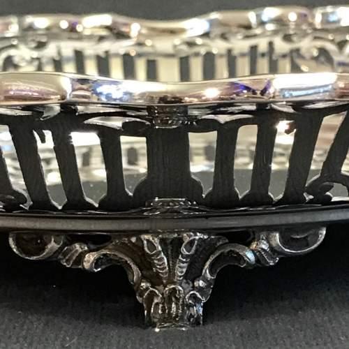 Good Quality Pierced Silver Bowl image-4