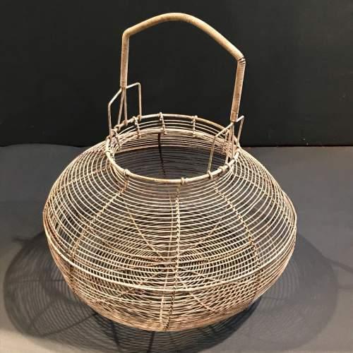 French Round Wire Basket image-1