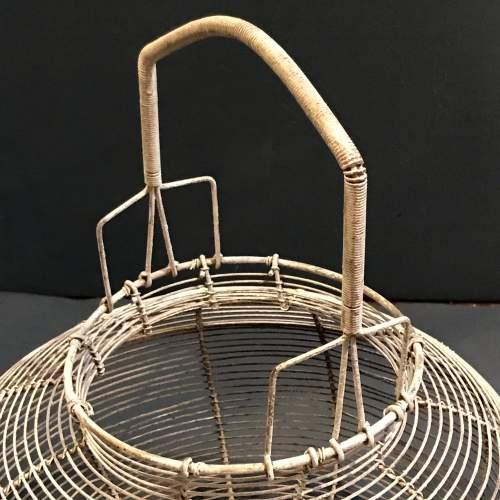 French Round Wire Basket image-2