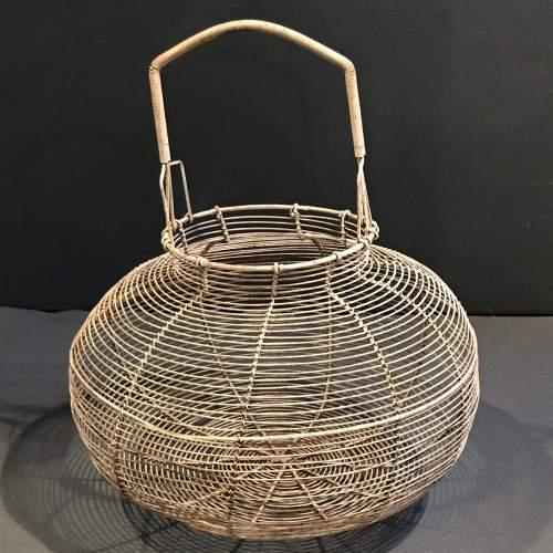 French Round Wire Basket image-4