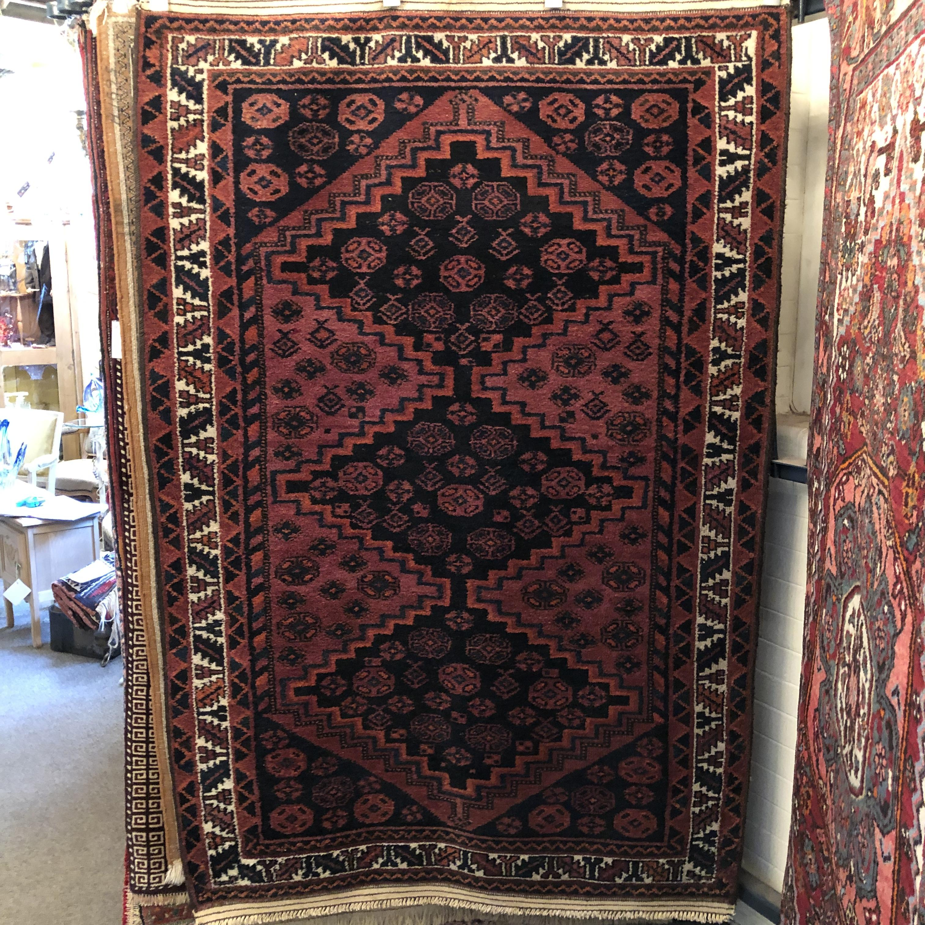 Antique Afghan Rugs: Rugs Tapestries & Textiles
