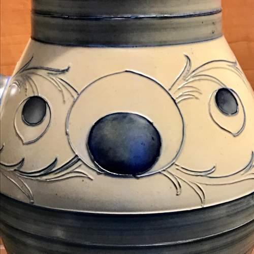 William Moorcroft Peacock Feather Vase image-3