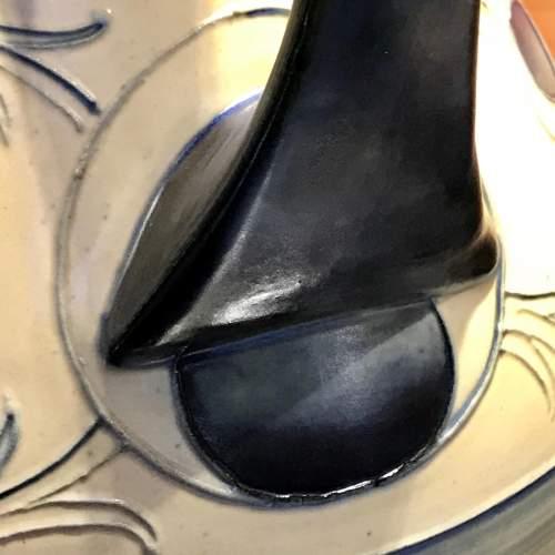 William Moorcroft Peacock Feather Vase image-5
