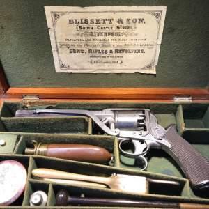 Antique Cased Percussion Revolver
