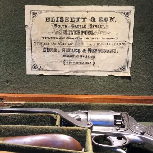 Antique Cased Percussion Revolver image-2