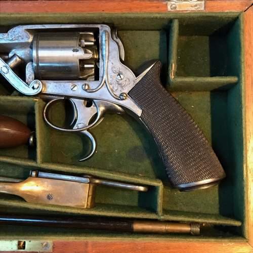 Antique Cased Percussion Revolver image-4