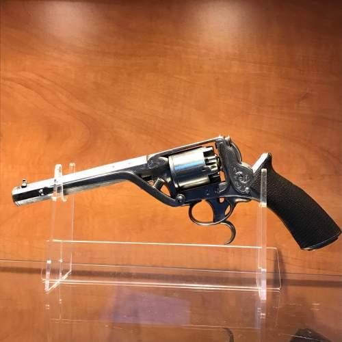 Antique Cased Percussion Revolver image-5