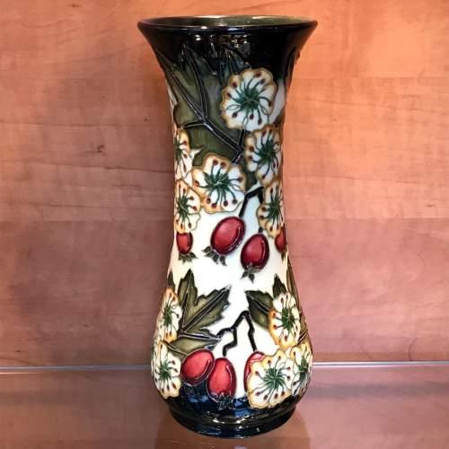 Moorcroft Hawthorne Vase for Liberty image-1