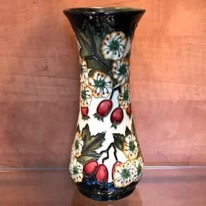 Moorcroft Hawthorne Vase for Liberty