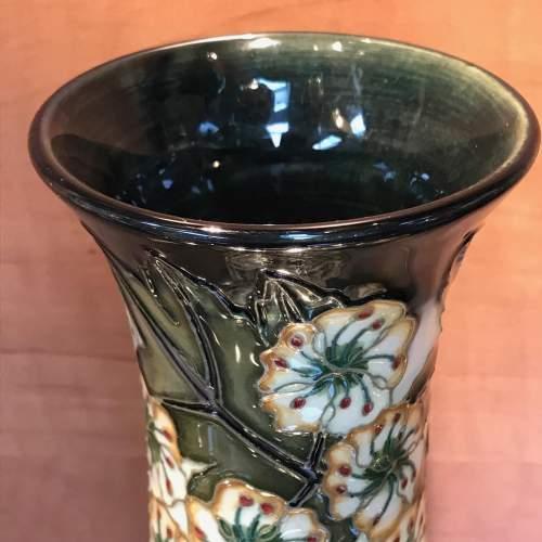 Moorcroft Hawthorne Vase for Liberty image-2