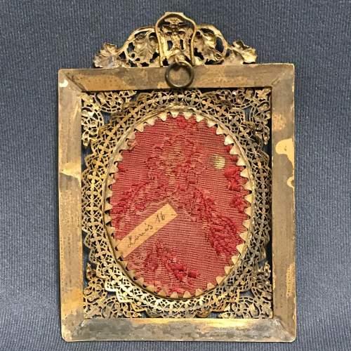 Antique Portrait Miniature of Louis XVI image-4