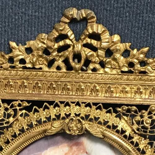 Antique Portrait Miniature of Lady Halled image-2