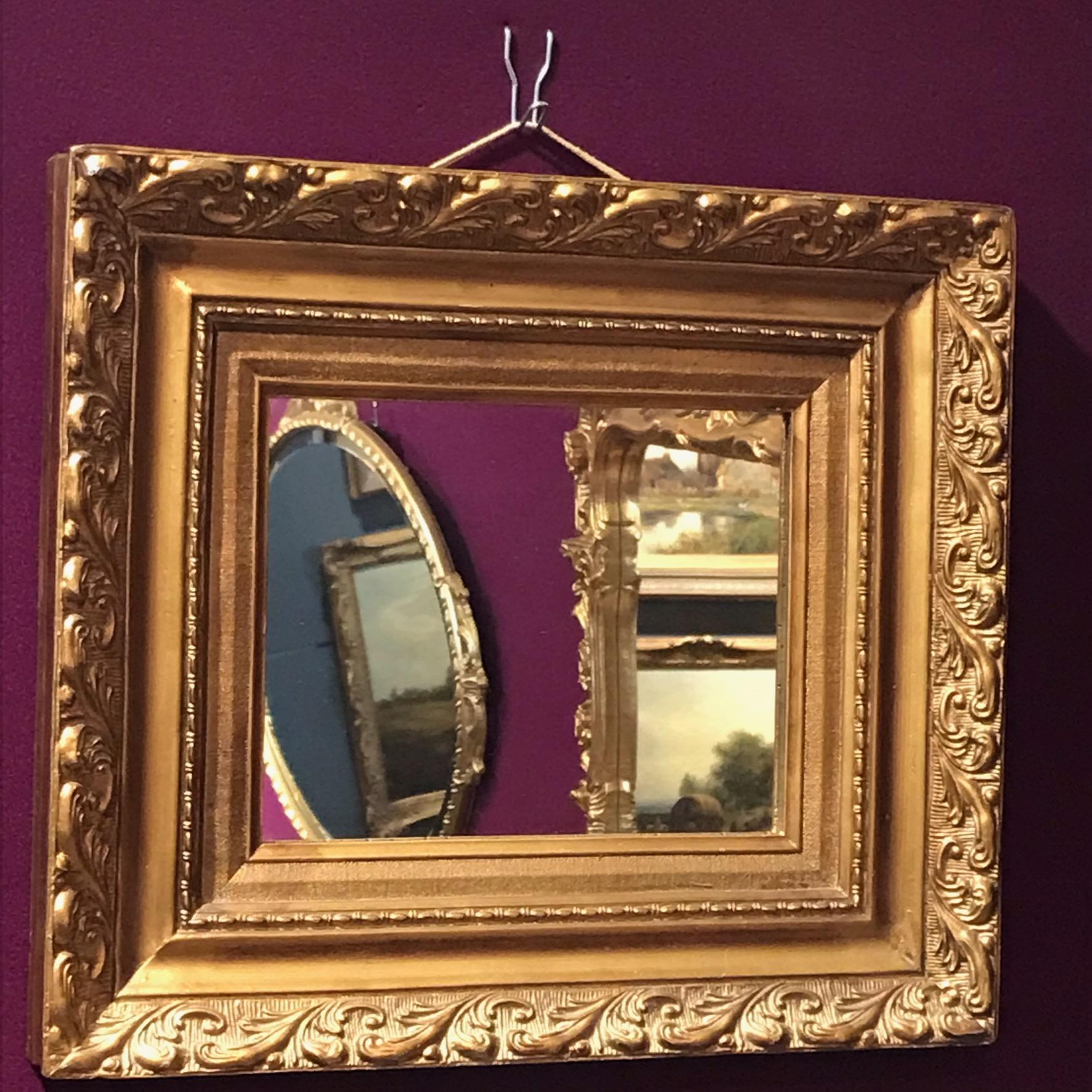 Decorative Gilt Framed Wall Mirror Antique Mirrors