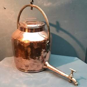 Victorian Copper Water Boiler