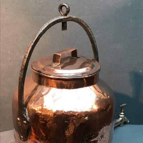 Victorian Copper Water Boiler image-2