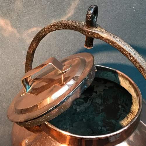 Victorian Copper Water Boiler image-6