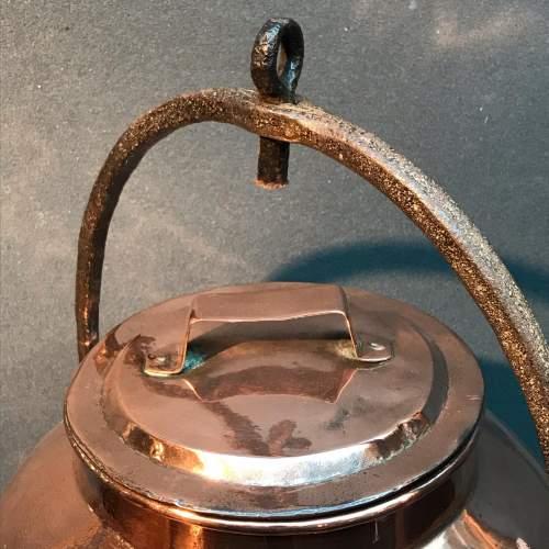 Victorian Copper Water Boiler image-5