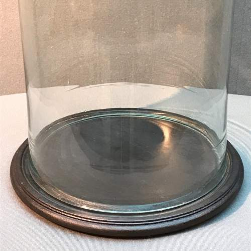 Tall Glass Dome with Base image-3
