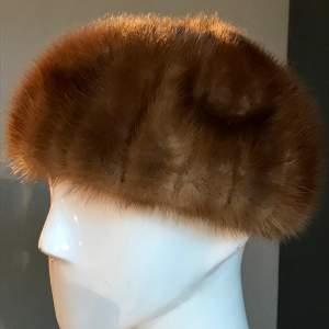 Harrods Vintage Mink Fur Hat
