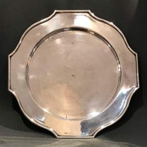 Walker and Hall Silver Plated Salver