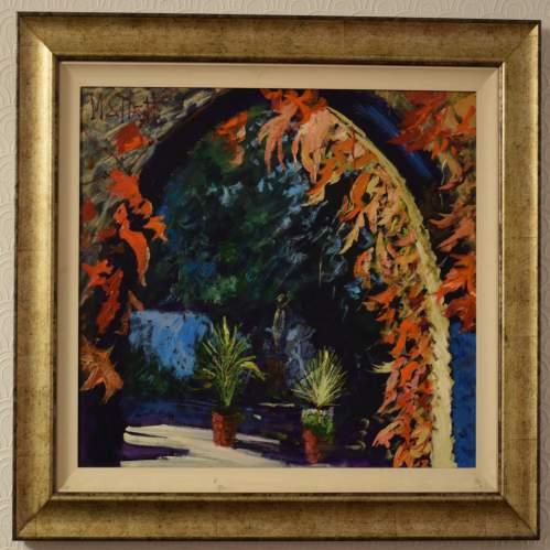 Virginia Creeper by Timmy Mallett Original Oil on Canvas image-1